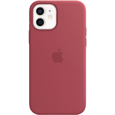 Чехол Apple Silicone Case для iPhone 12 Camellia