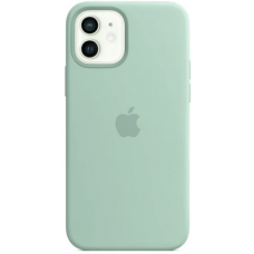 Чехол Apple Silicone Case для iPhone 12 Turquoise