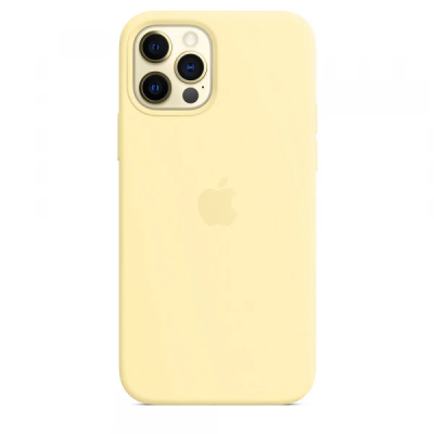 Чехол Apple Silicone Case для iPhone 12 Pro Mellow Yellow