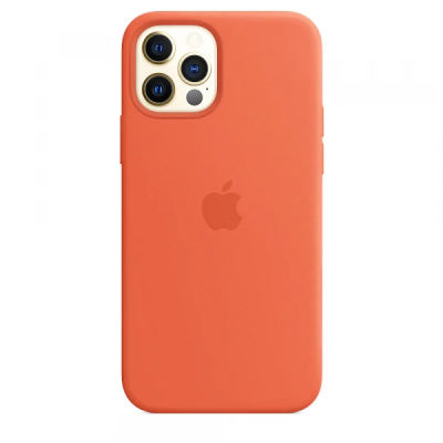 Чехол Apple Silicone Case для iPhone 12 Pro Max Orange