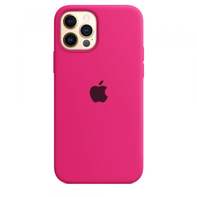 Чехол Apple Silicone Case для iPhone 12 Pro Max Barbie Pink