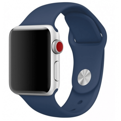 Ремешок Apple Watch Sport Band 42 mm/44 mm Blue Cobalt