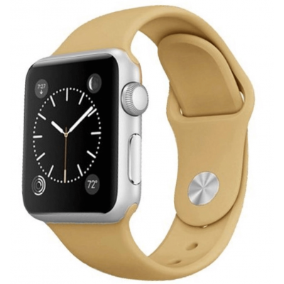 Ремешок Apple Watch Sport Band 38 mm/40 mm Mustard