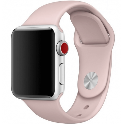 Ремешок Apple Watch Sport Band 38 mm/40 mm Pink Sand