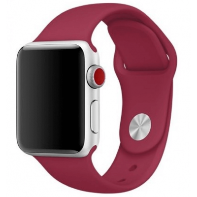 Ремешок Apple Watch Sport Band 42 mm/44 mm Rose Red